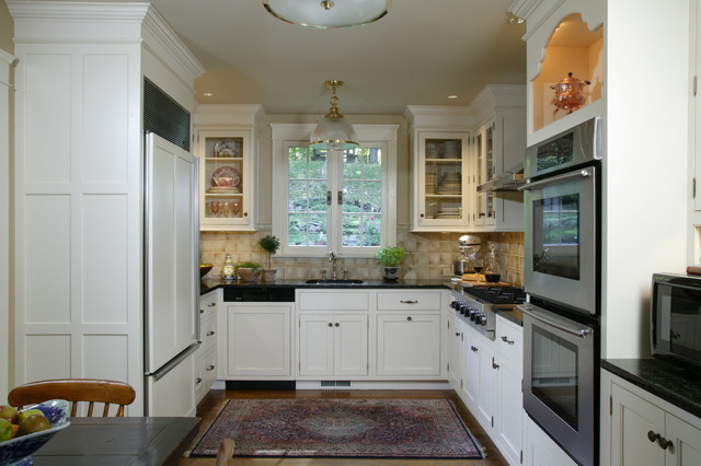 10 x 16 kitchen design. traditional kitchen appliance - example of a classic design in new york 10 x 16 e