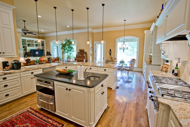Tropical Island Kitchen : Tropical Kitchen Island - Traditional - Kitchen - little rock - by ...