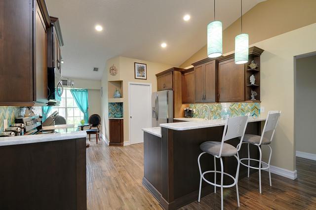 tropical kitchen kolonialstil k che tampa von. Black Bedroom Furniture Sets. Home Design Ideas