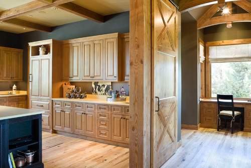Kitchen Layout Ideas: Barn House