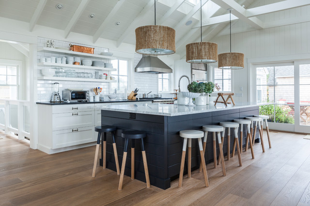 Truro Cape Cod - Beach Style - Kitchen - other metro - by ...