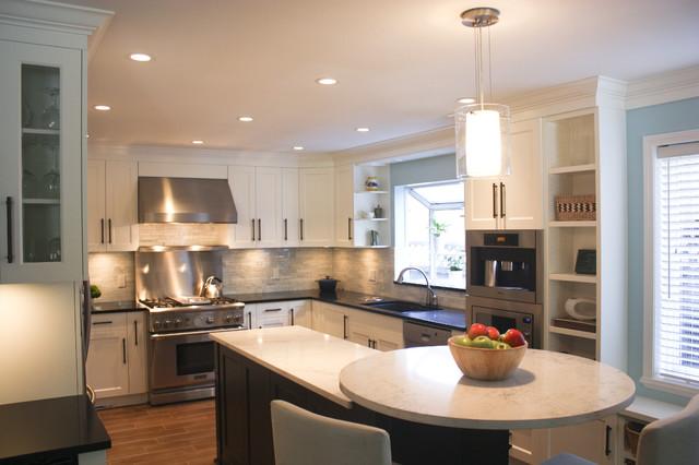 Tsawwassen Renovation contemporary-kitchen