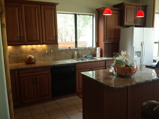 Tucson Eco-Friendly Kitchen Remodel - Transitional - Kitchen - other ...