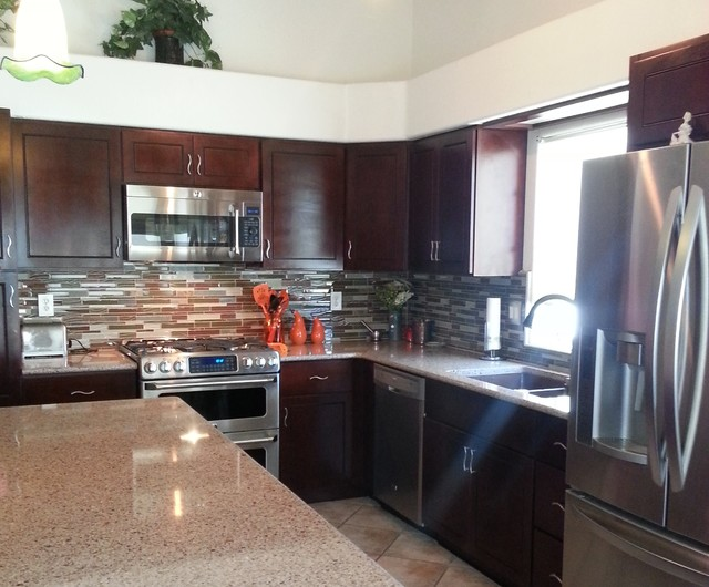 Tucson kitchen remodel for Kitchen cabinets tucson