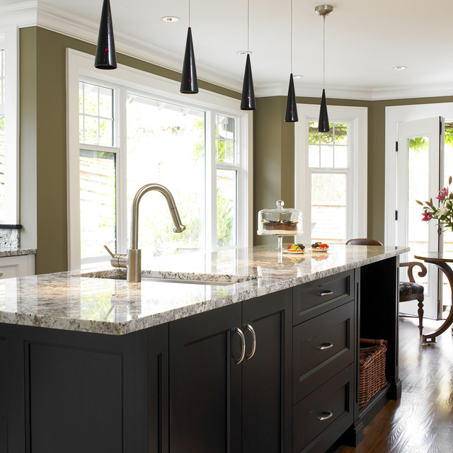 Tudor House transitional-kitchen