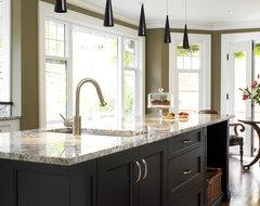 Tudor House transitional-kitchen