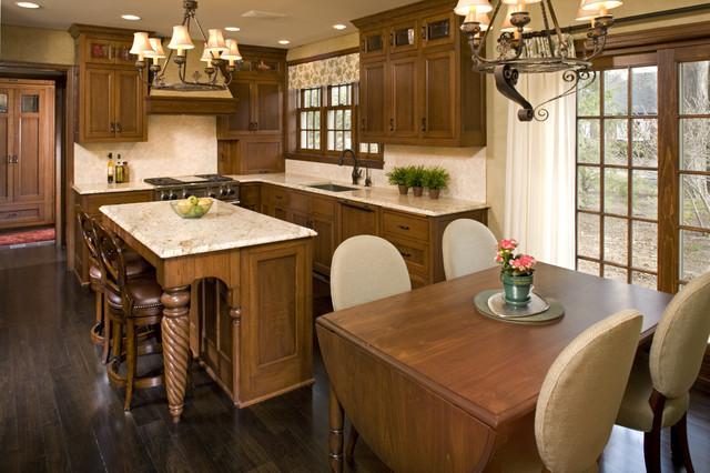 Tudor Kitchen Remodel Traditional Kitchen Minneapolis - Tudor kitchen remodel
