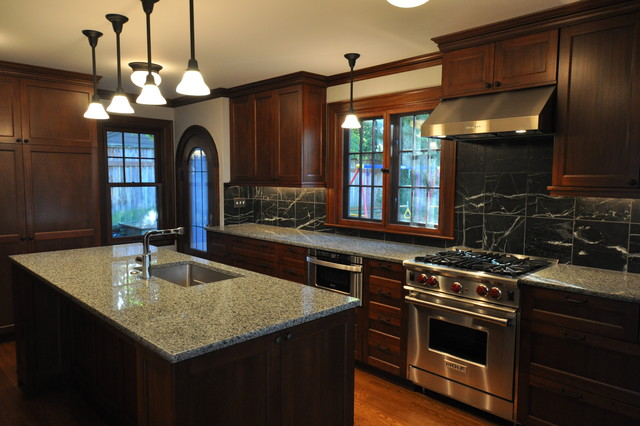 Tudor kitchen traditional kitchen seattle by for Tudor kitchen design