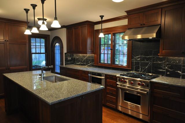 Tudor Kitchen - Traditional - Kitchen - Seattle - by Ventana ...