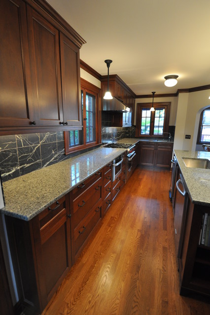 Tudor kitchen traditional kitchen seattle by for Kitchen cabinets seattle
