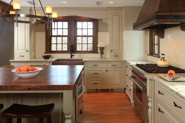 Tudor Kitchen - Traditional - Kitchen - minneapolis - by w ...