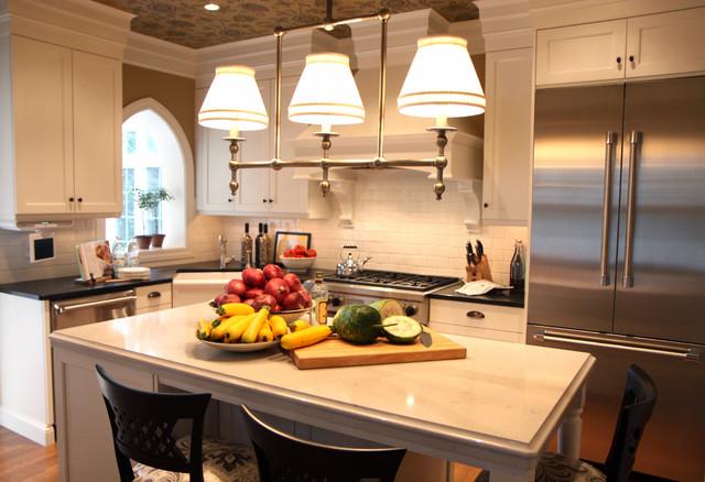 Tudor Makeover traditional-kitchen