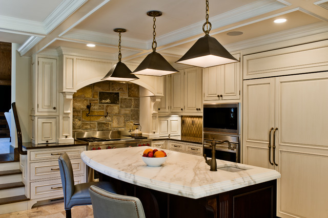 Tudor Renovation Traditional Kitchen New York By