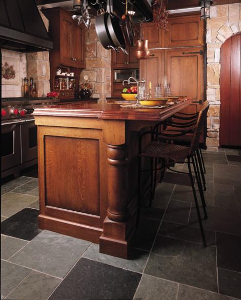 Tudor Retreat mediterranean-kitchen