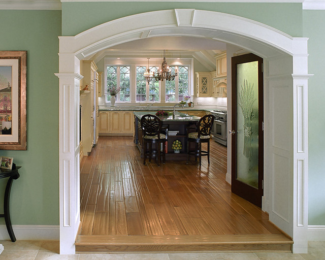 Tudor Revival traditional-kitchen