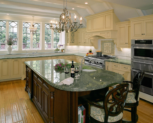 Tudor revival traditional kitchen los angeles by for Tudor kitchen design