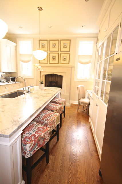Tudor with Southern Flair traditional-kitchen