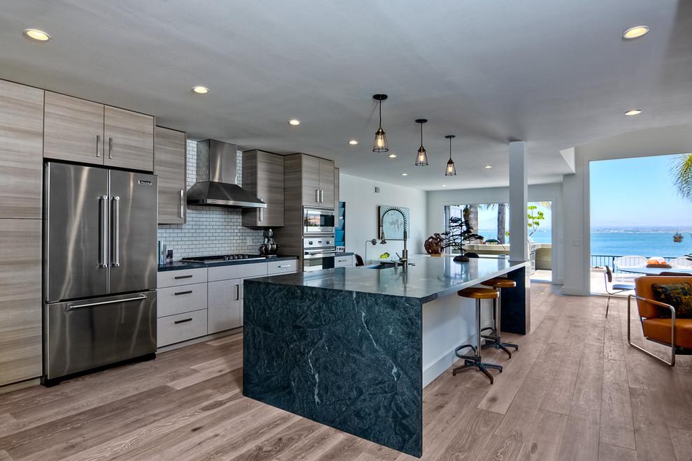 Tunapuna Lane -Coronado, Ca. - Modern - Kitchen - San ...