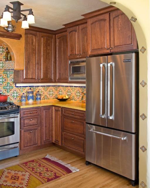 Mediterranean Tiles Kitchen: Tupper Kitchen And Bathroom Remodel