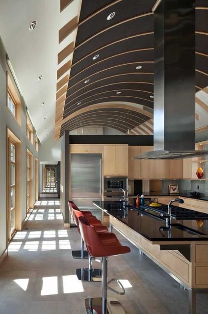 Turkey Farm Contemporary Kitchen Cedar Rapids By Akar Architecture