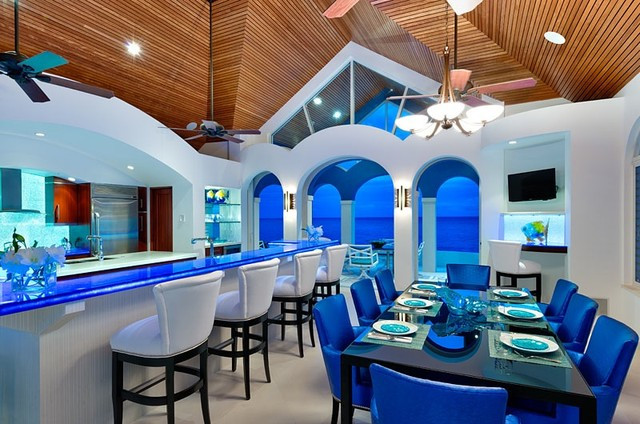 Turks And Caicos Tropical Kitchen Seattle By