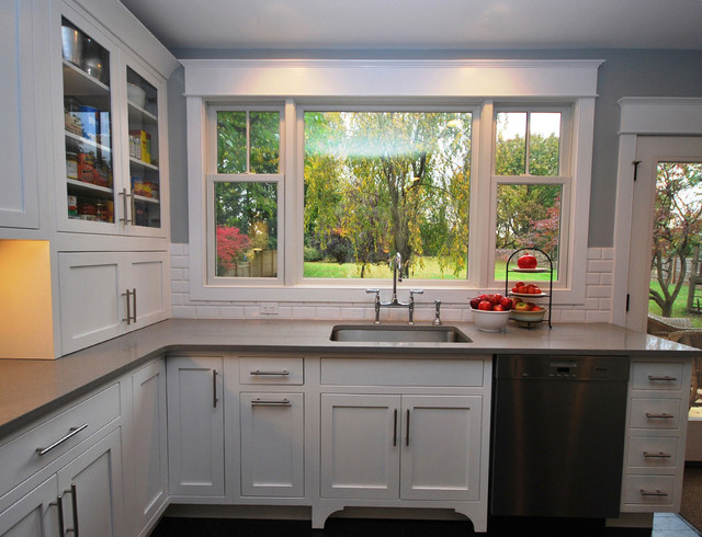 Turn of the Century Farm House Restoration traditional-kitchen