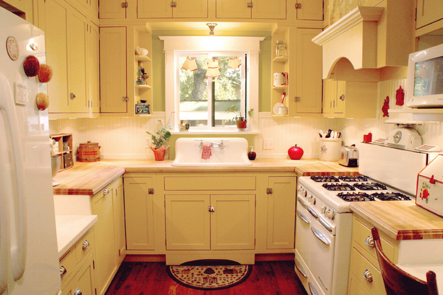 Turn of the Century Style Kitchen- Remodel - Farmhouse - Kitchen - other metro - by Portrait ...