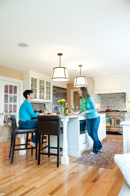 Turnberry Traditional Kitchen Portland Maine By Steinberg Custom Designs