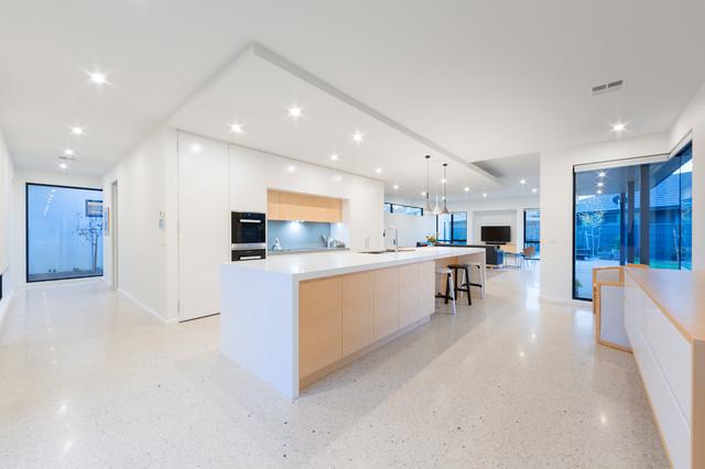 Turner Residence 1 Contemporary Kitchen Canberra Queanbeyan By Kylie Radburn Design