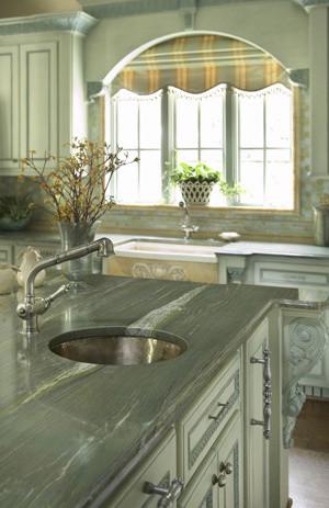 Turquoise Kitchen traditional-kitchen