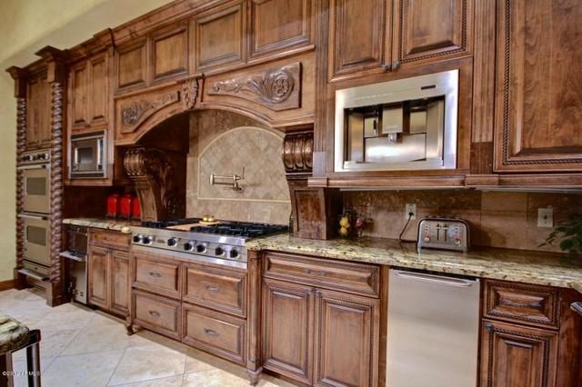 Tuscan home design mediterranean kitchen phoenix for Colorado kitchen designs llc