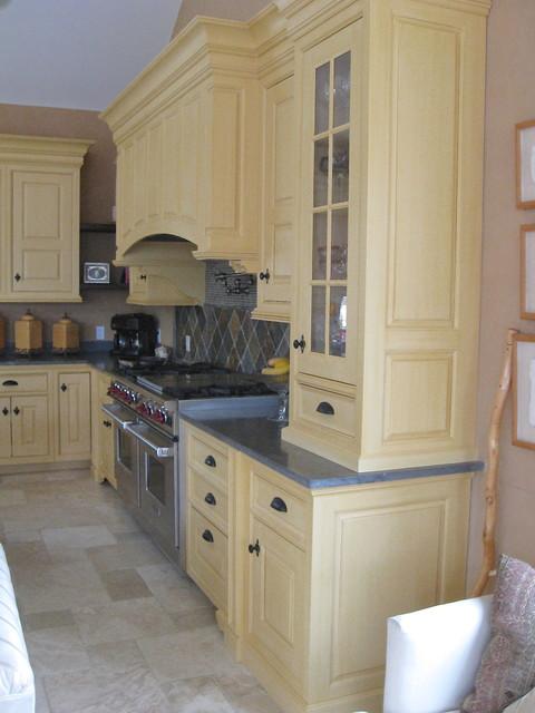 Tuscan Kitchen Kitchen Boston By Anna O Design