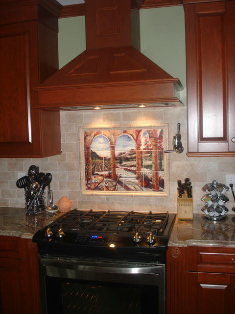 tuscan kitchen backsplash ideas mediterranean kitchen