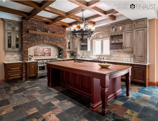 Tuscan kitchen design traditional kitchen ottawa for Kitchen designs ottawa
