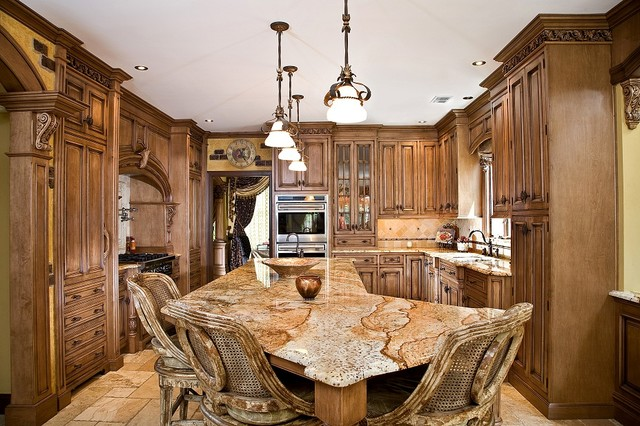 tuscan kitchen design nj traditional kitchen newark by kuche
