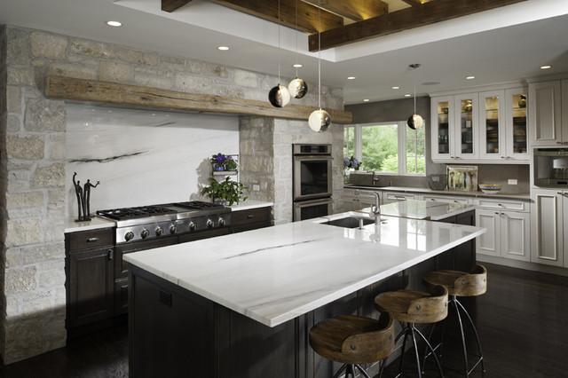 Tuscan Kitchen Contemporary Kitchen Chicago By Fredman Design Group
