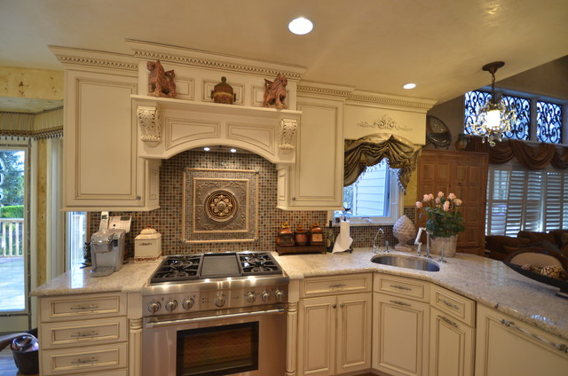 Tuscan Kitchen in Manasquan, NJ - traditional - kitchen - new york