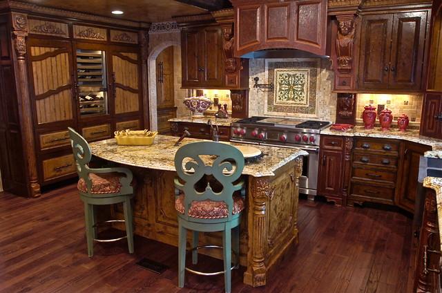 Tuscan Kitchen - Mediterranean - Kitchen - baltimore - by K' Bella Studios