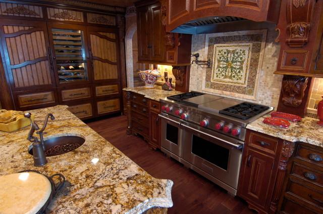 Tuscan Kitchen - Mediterranean - Kitchen - baltimore - by K' Bella ...