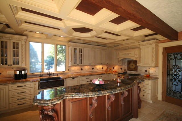 Tuscan Kitchen Traditional Kitchen Boston By Mary