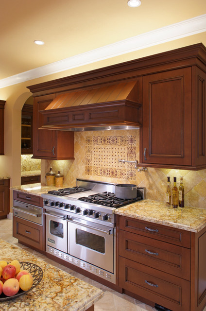 Tuscan Kitchen, New Construction traditional-kitchen