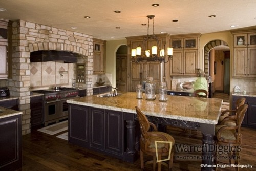 Beau Tuscan Kitchen Mediterranean Kitchen