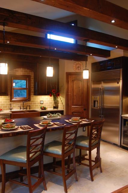 Tuscan Kitchen traditional-kitchen