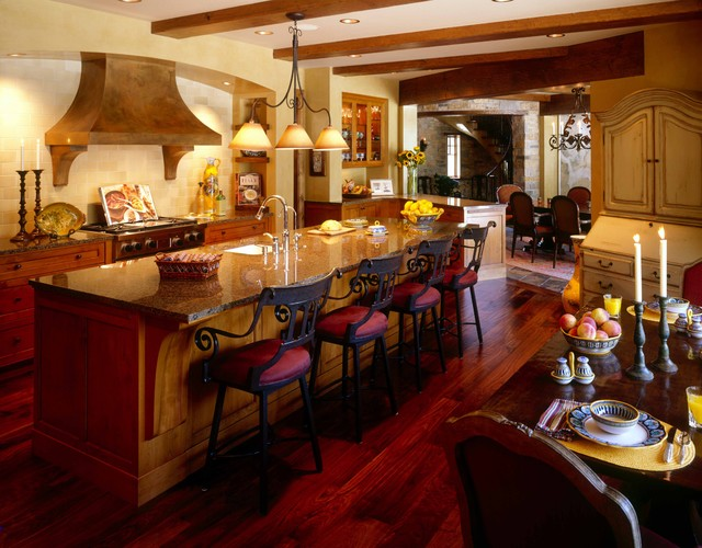 Tuscan Kitchen Traditional Kitchen Minneapolis By