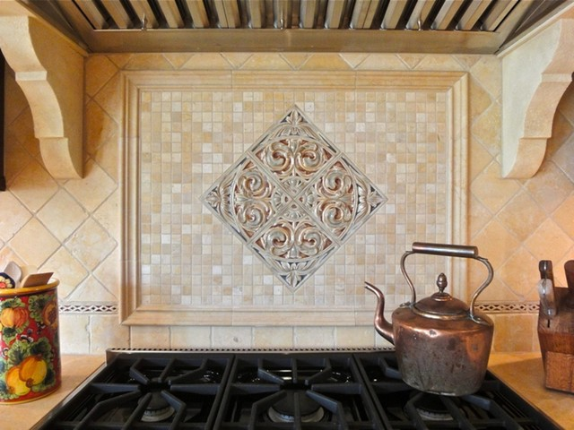 tuscan lite a slim trim kitchen family room design traditional