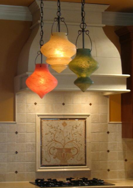 Tuscan Living Room Kitchen Backsplash In Blue Bell Pa