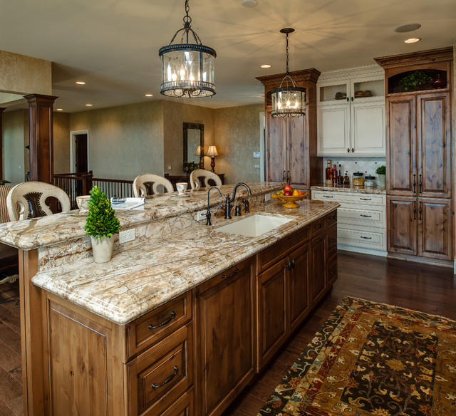 Tuscan Meets Traditional - Traditional - Kitchen - other ...