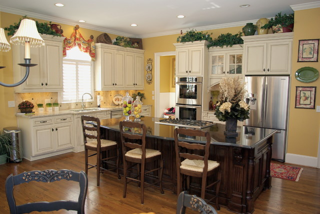 Tuscan Rustic Kitchen - Traditional - Kitchen - other metro - by ...