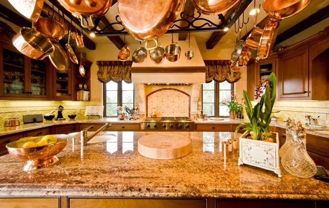 Tuscan Style Home mediterranean-kitchen