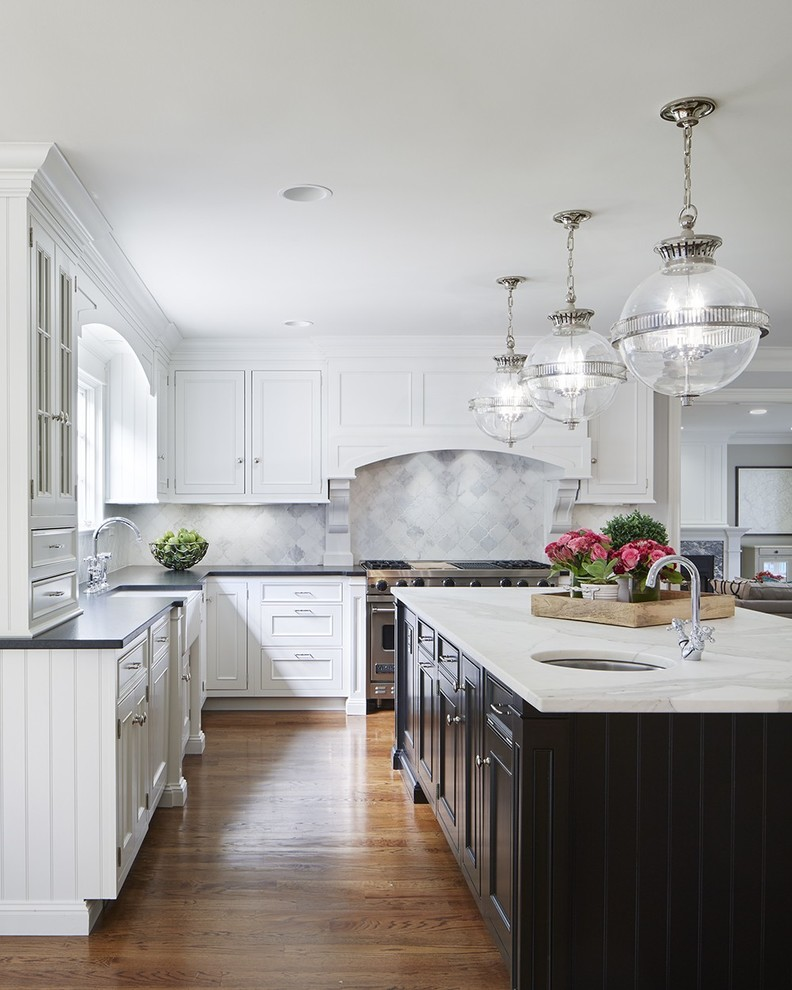 Tuscan Style Home With A Modern Twist Traditional Kitchen Sydney By Wright Mcknight Designs Houzz